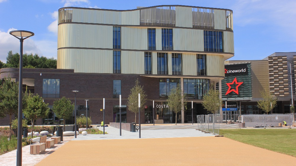 Flagship Building Southwater One Opens Today In Telford