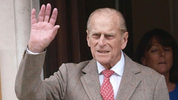 The Duke of Edinburgh was released from hospital on Saturday in time to celebrate his 91st birthday today.