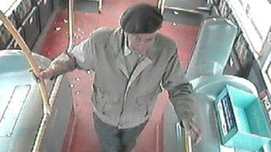 CCTV of Alexander Cromar