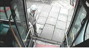 CCTV of Alexander Cromar