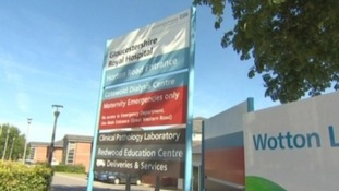 The incident happened at Wotton Lawn Hospital in Gloucester