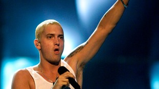 The last time Eminem performed in London was in 2001.