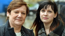 Jane Nicklinson with daughter Lauren. The family have pledged to carry on Tony's right-to-die fight.