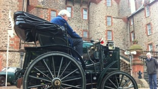 World's oldest car in the Scottish Borders