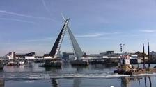 New twin sails bridge, Dorset