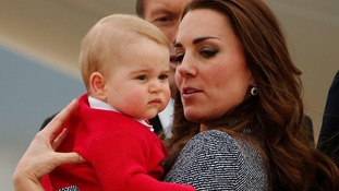 Dubbed the 'George effect' the baby prince's classic outfits have been selling out in seconds.