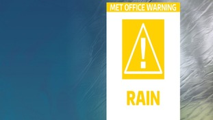 yellow weather warning for rain