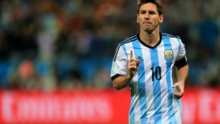 Lionel Messi carries Argentina's hopes.