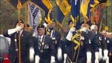 Falklands march