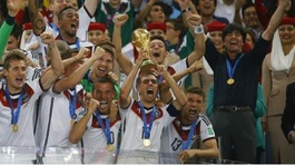 Germany win the 2014 World Cup in Brazil
