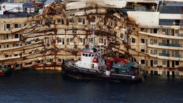 Costa Concordia raised after two-and-a-half years