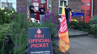 Picket line Sunderland