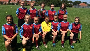 Girls from St Ivo School crowned Under 12's  champions