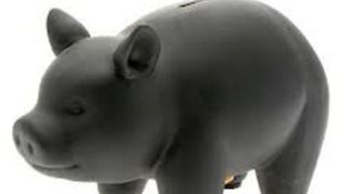 A piggy bank similar to this was stolen