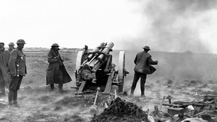 British weaponry is put to the test during the Great War.