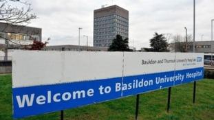 Basildon University Hospital.