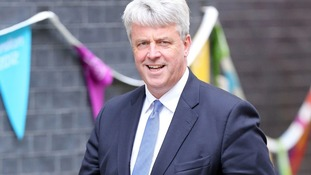 Andrew Lansley arrives for a cabinet meeting at Downing Street in 2012