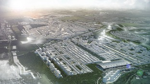 Proposed design for 'Heathrow City'