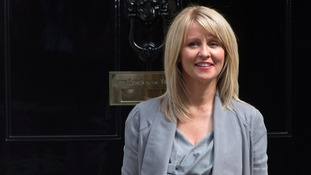 "Esther McVey welcomes an ""important milestone"" in recovery"