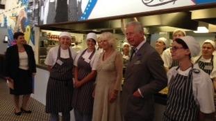 Prince Charles and Camilla in Cornwall