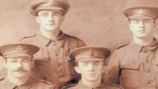 Four of the brothers that died during the war, (l-r) John William Stout, Alfred Smith, Frederick Smith, George Henry Smith.