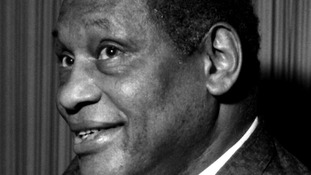 American Civil rights activist and singer Paul Robeson