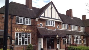 The Deer's Leap pub in Great Barr where Jonathan Woodhall was punched
