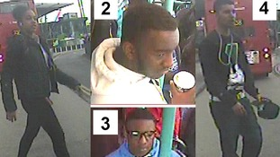Four passengers police want to trace following the attack