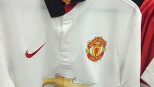 Manchester United's new away shirt