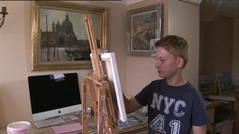 "Catching up with Norfolk's ""Mini Monet"""