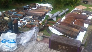 Hoard of firearms found at property in Dukinfield