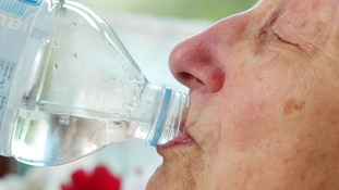 Older people have been warned by Age UK to drink plenty of water as temperatures soar