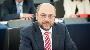 Martin Schulz said he was 'glad' to learn Lord Hill was not a hardline eurosceptic.