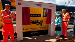 The Queen names a new High Output Plant system