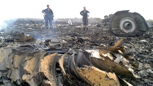 The plane is said to have crashed in the settlement of Grabovo in the Donetsk region.