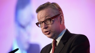 New Tory Chief Whip Michael Gove.