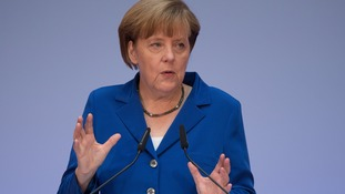 Chancellor Merkel called for compromise.