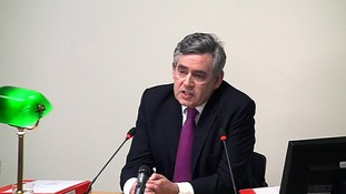 Gordon Brown at the Leveson Inquiry