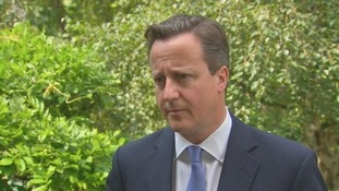 Prime Minister David Cameron, speaking after the COBRA meeting this morning on the Ukraine plane crash.