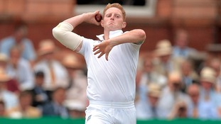 Cricketer Ben Stokes in action