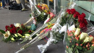 Floral tributes have been growing at Schipol Airport, where the flight left.
