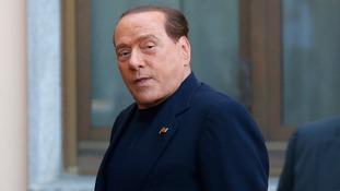 Silvio Berlusconi.