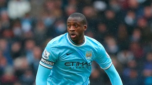 Manchester City's Yaya Toure.