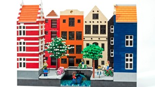 Amsterdam, in lego form