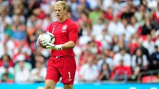 Joe Hart England Euro 2012