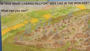 Caerau hillfort Iron Age