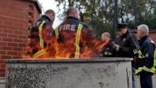 Firefighters wil strike for 2 hours tonight from 11pm - 1am in a row over pensions and retirement age