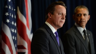 David Cameron and Barack Obama discussed the MH17 disaster.