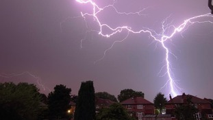 Lightening above Timperley