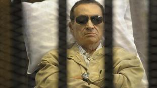 Hosni Mubarak.